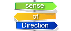 Regain a sense of direction