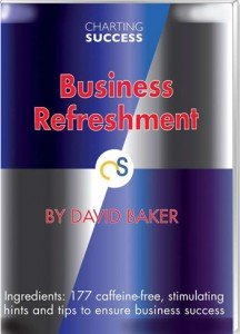 Book with hints and tips to ensure business success